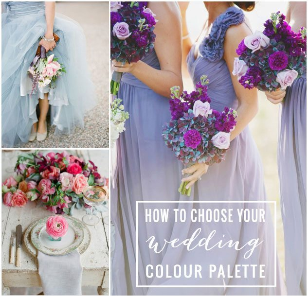 How To Pick Your Wedding Color Pallet
