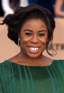 The OITNB star on the red carpet at the 22nd Annual SAG Awards (Photo by Steve Granitz/WireImage)
