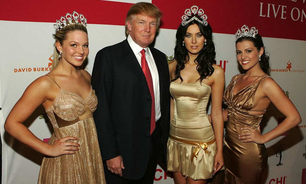 Donald Trump In Miss Teen USA Dressing Room When Girls As