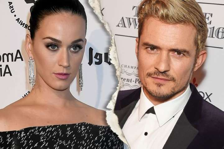 Katy and Orlando split