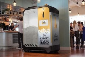 beer bottle sand machine