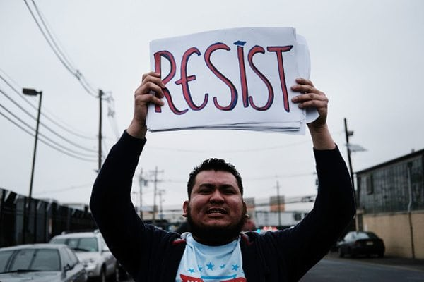 resist movement mexico