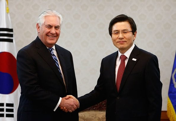 north korea rex tillerson