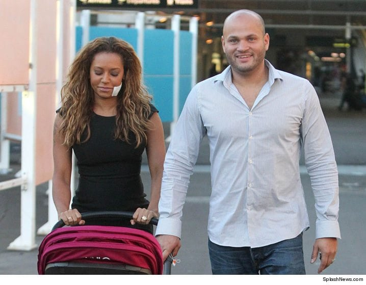 Mel B and her estranged husband
