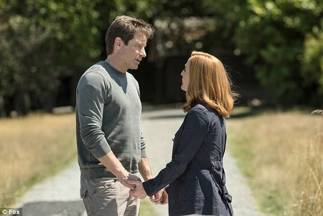 The The X-Files' mulder and scully