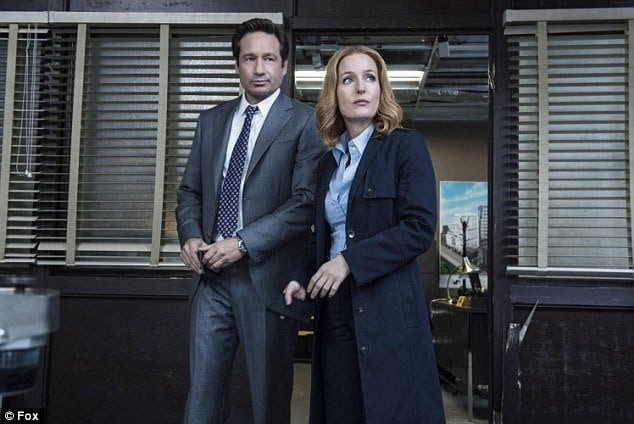 The X-Files' mulder and scully