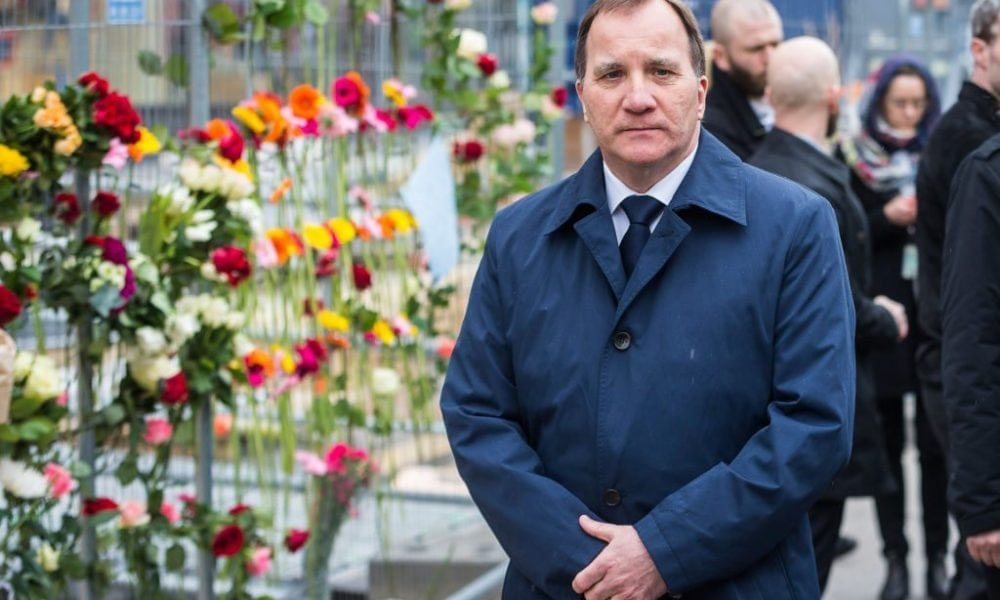 Sweden's PM pays tribute to the victims of the Stockholm attack
