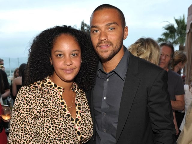 Jesse Williams and Wife