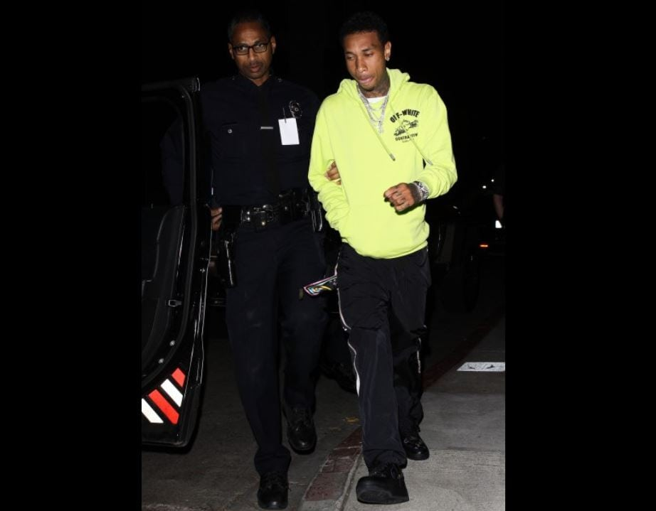 tyga detained by lapd