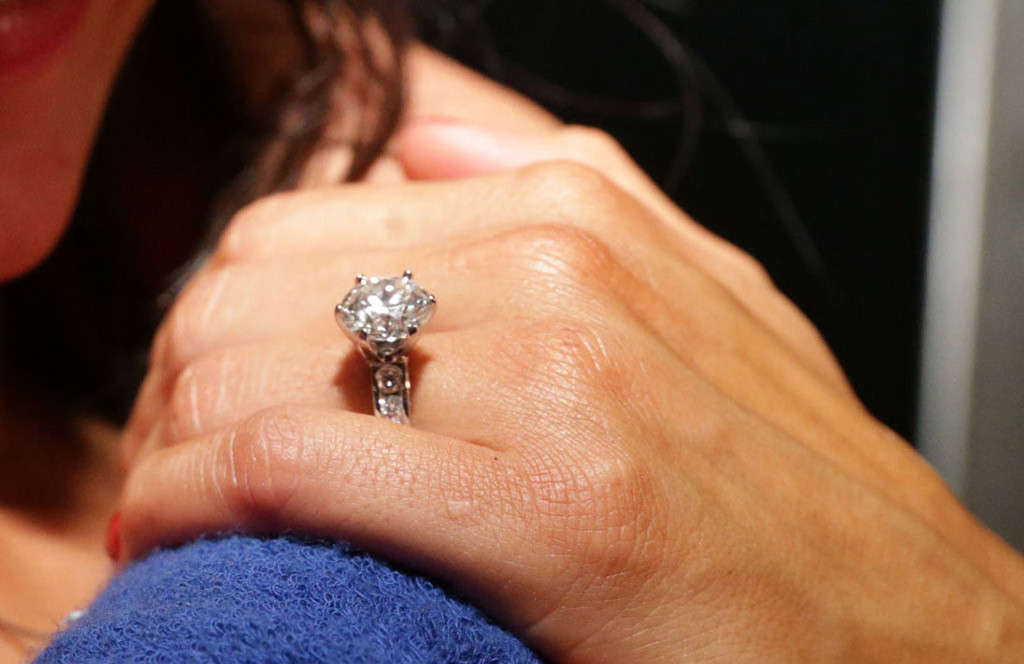 The ring John Cena gave to Nikki Bella