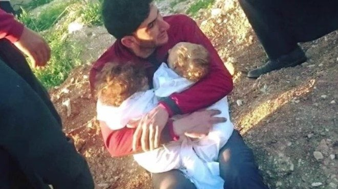 chemical attack kills twins