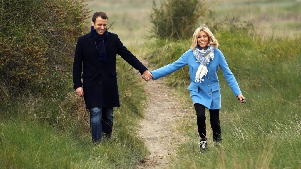 Emmanuel Macron and First Lady