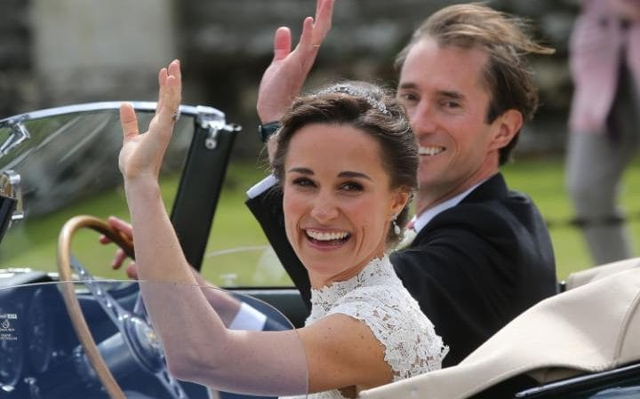 Meghan Markle absent on Pippa's wedding
