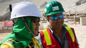 self-cooling hard hat