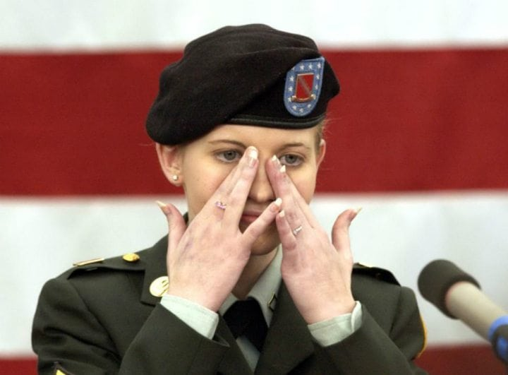 Missing Female Soldier