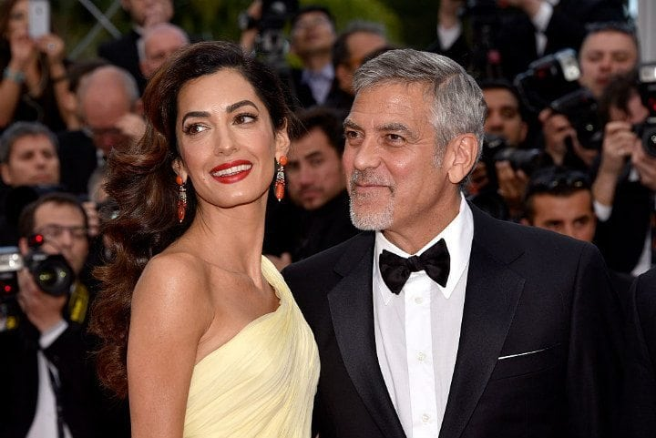 1. George and Amal Clooney