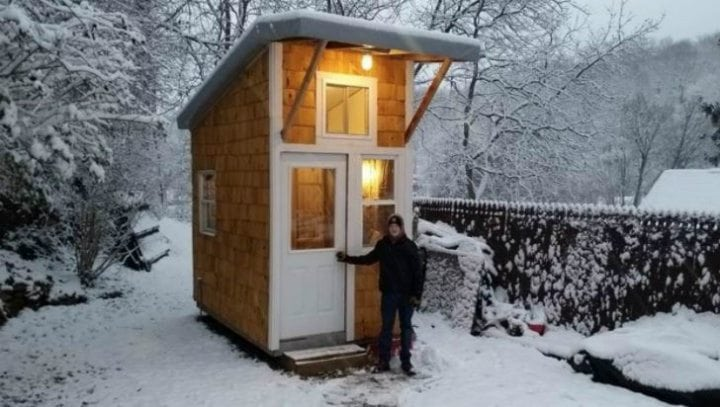 13 year old luke thill built his own tiny house and only spent 1 500