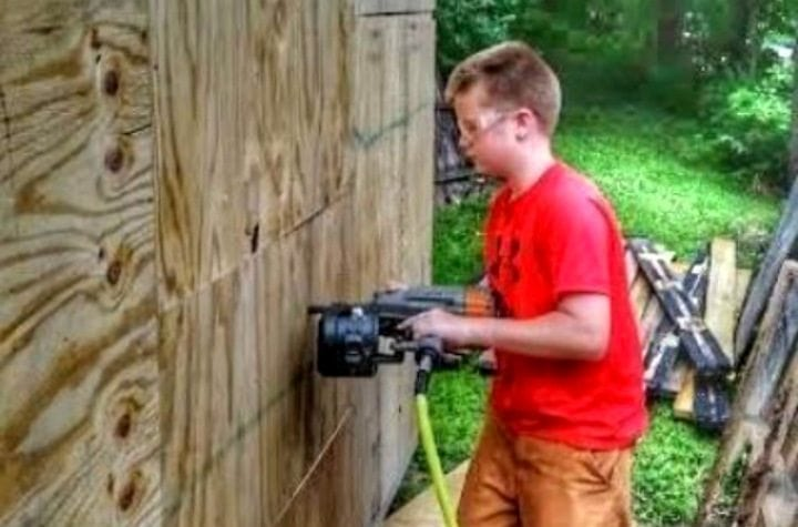 This 13-Year-Old Boy Built His Own Tiny House and Only Spent $1,500