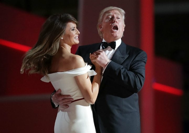 melania trump donald trump trophy wives