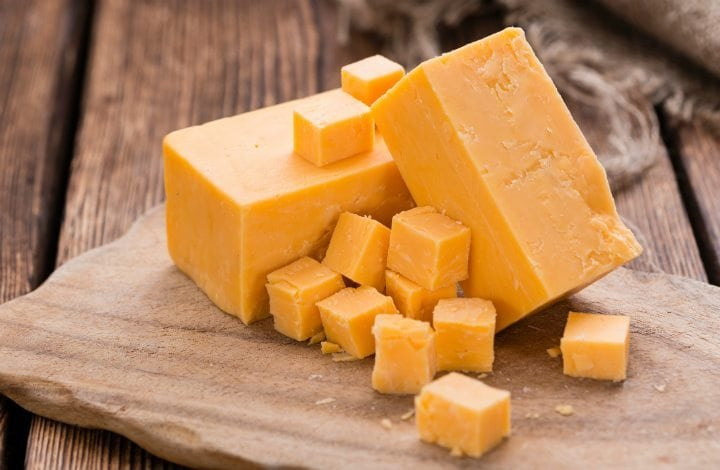everyday super foods - cheddar cheese