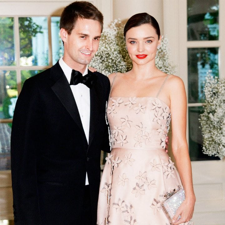 billionaire wives club - miranda kerr evan spiegel