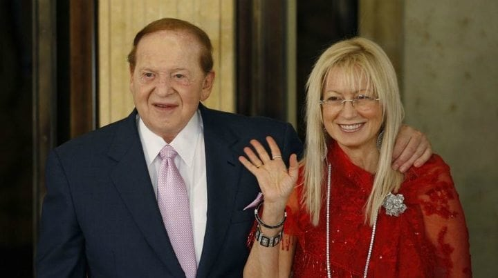 billionaire wives club - miriam sheldon adelson