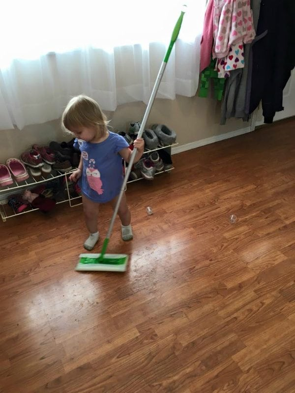 clint edwards child cleaning