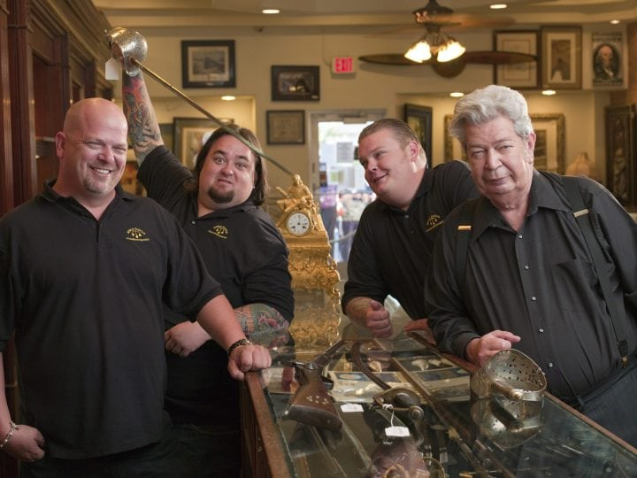 pawn stars gold and silver pawn shop old man rick harrison corey chumlee
