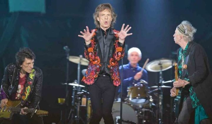 mick jagger rolling stones concert