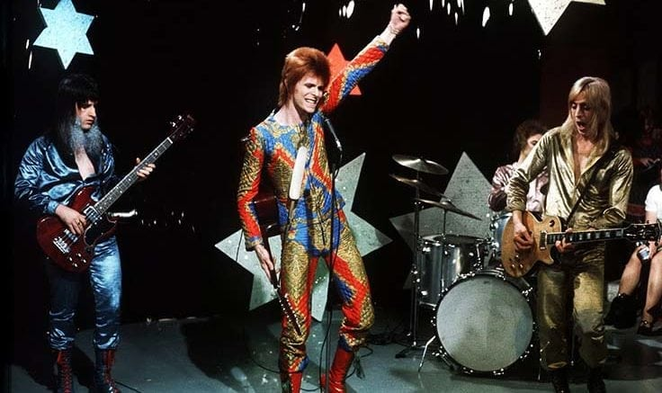 david bowie ziggy stardust and the spiders from mars rock band break up star music broke up