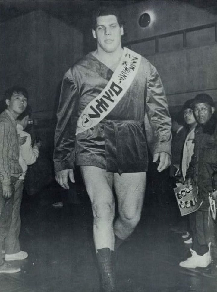 andre the giant andre roussimoff japan japanese
