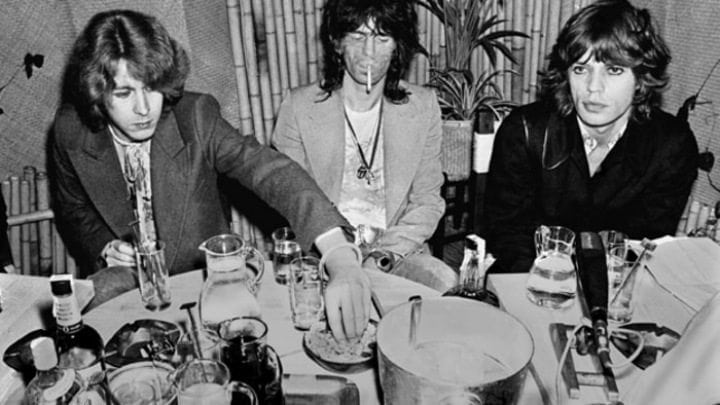 rolling stones drinking