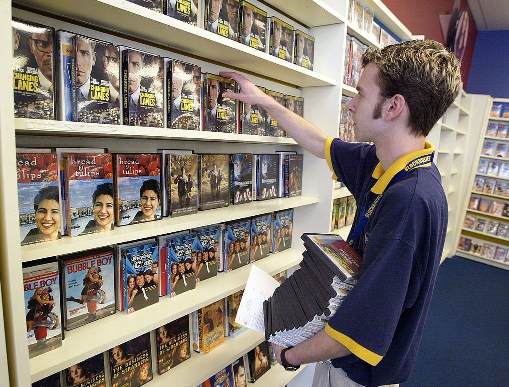 video store dvd netflix film movie outdated old job