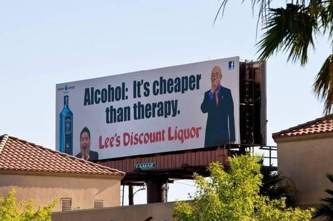 alcohol therapy las vegas weird funny drunk awkward crazy