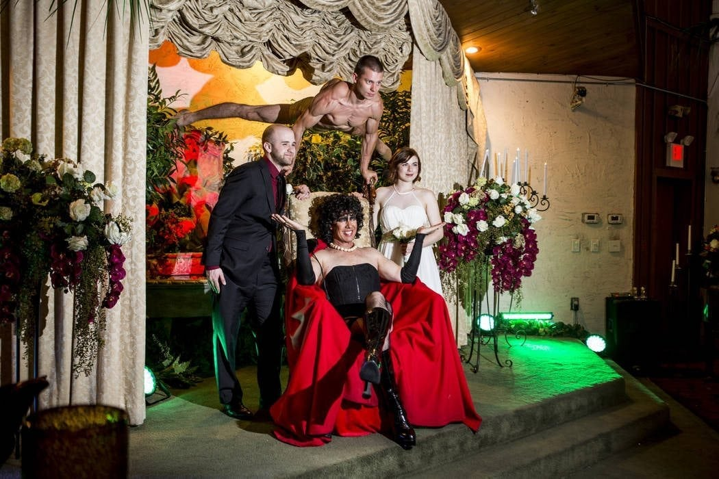 rocky horror picture show wedding las vegas nevada