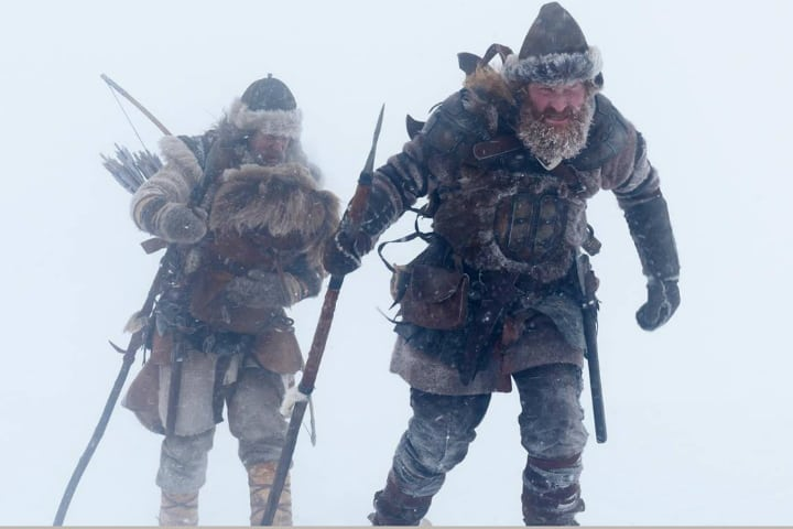 Vikings skiing