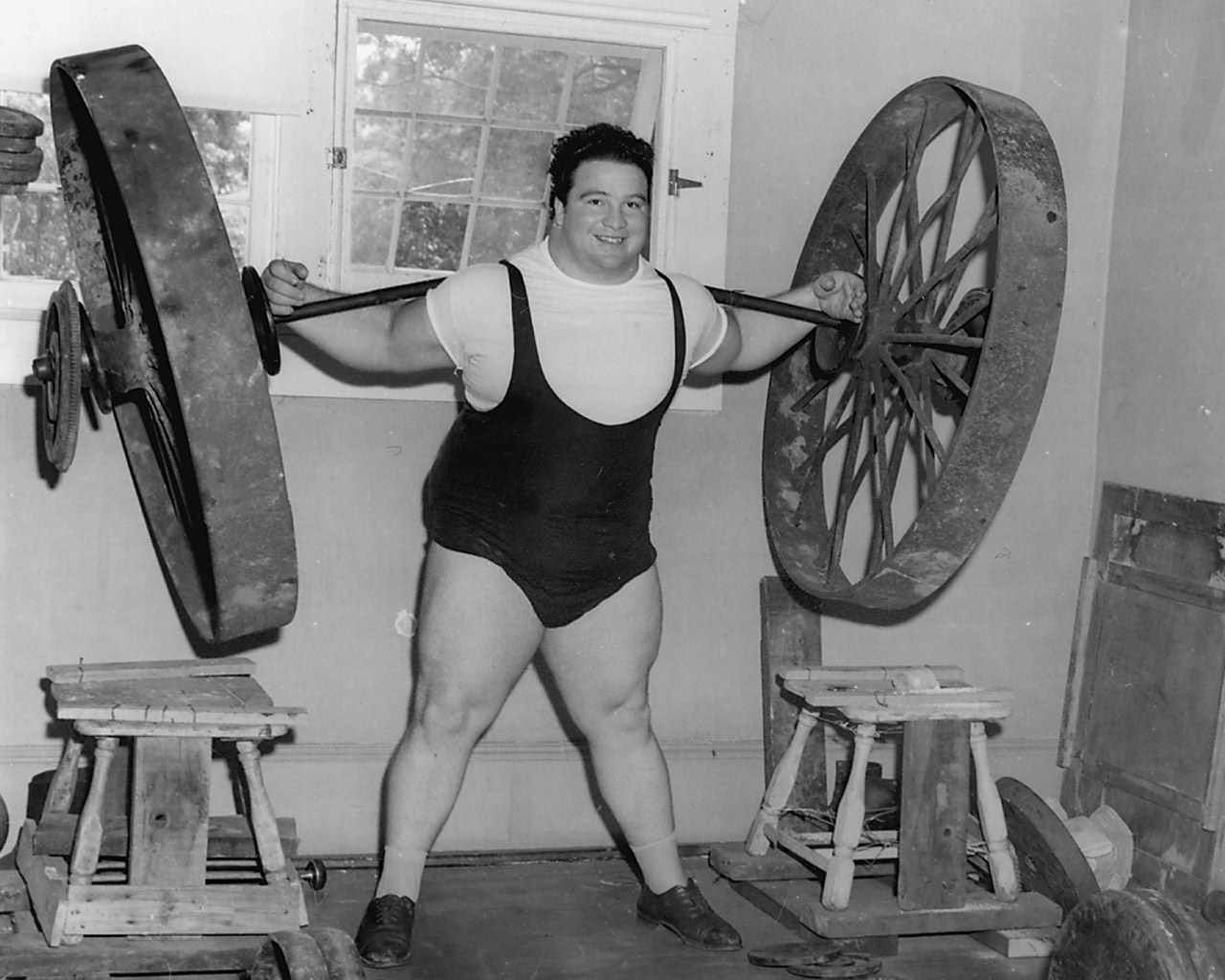 paul anderson lifting wagon wheels strongman strongmen weightlifter weightlifting