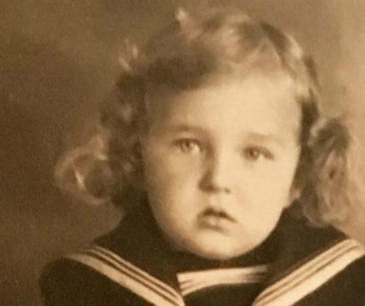 Natalie Suleman's Mother as a Young Girl
