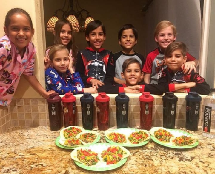 Natalie Suleman's Kids Playing